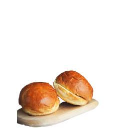 Brioche bandelės mėsainiams BIRŽŲ DUONA, 5 vnt,  450g