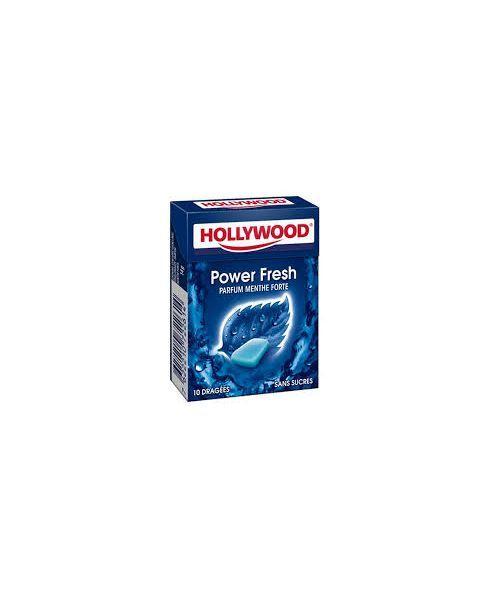 Kramtomoji guma HOLLYWOOD Power fresh, 14 g