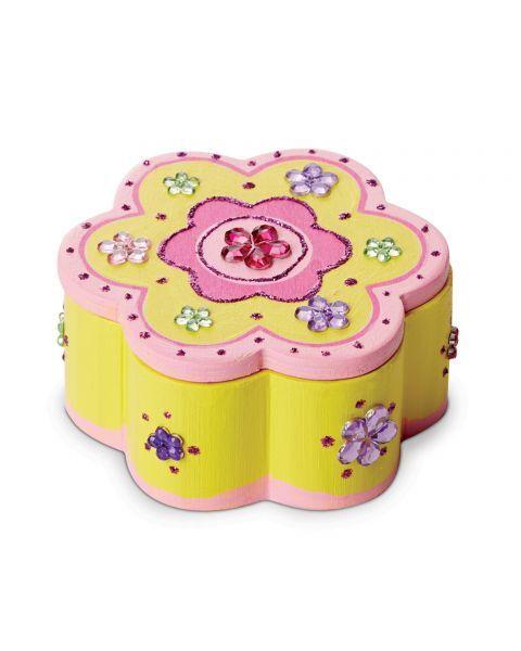 """Dėžutės dekoravimo rinkinys MELISSA & DOUG """"Flower"""", 1 vnt. 4"""