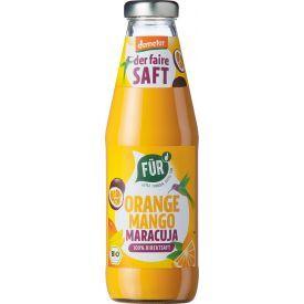 Ekologiškos biodinaminės mangų, apelsinų ir pasiflorų sultys FUR, 500ml