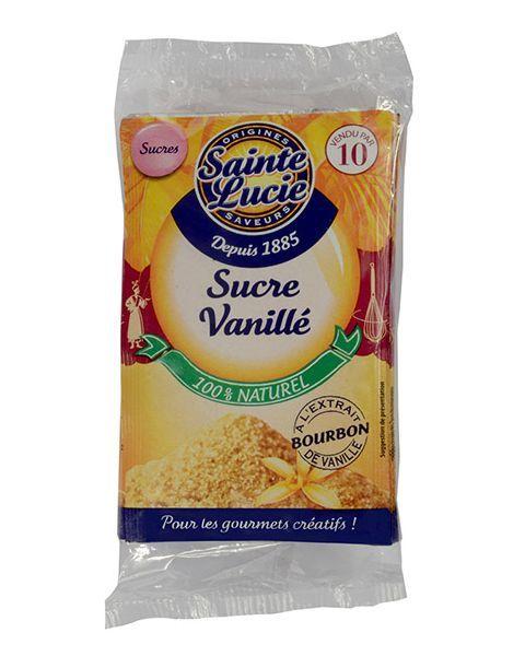 Bourbon vanilinis cukrus SAINTE LUCIE, 5 maišeliai, 37,5 g
