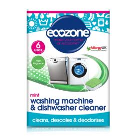 Indų ir skalbimo mašinų valiklis ECOZONE, mėtų kvapo, 6 vnt.