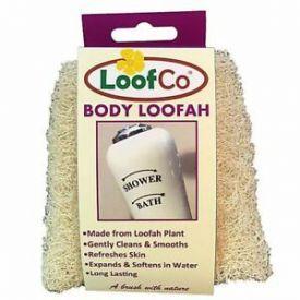 Natūralaus pluošto kūno kempinė LoofCo, 1 vnt.