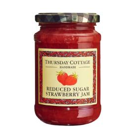 Braškių džemas THURSDAY COTTAGE su sumažintu cukraus kiekiu, 315 g