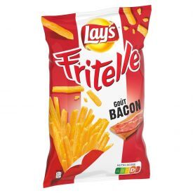 Bulvių traškučiai LAYS Fritelle Bacon 80g