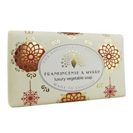 "Kalėdinis muilas ENGLISH SOAP ""Frankincense & Myrrh"", 190 g"