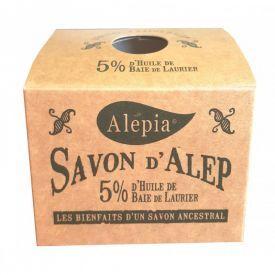 Muilas su lauramedžio aliejumi (5%) ALEPIA Authentic, 190 g