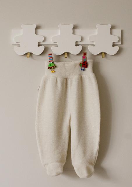 100% merino vilnos, kilpinio audinio kelnytės kūdikiams VILAURITA, 62 cm (467)