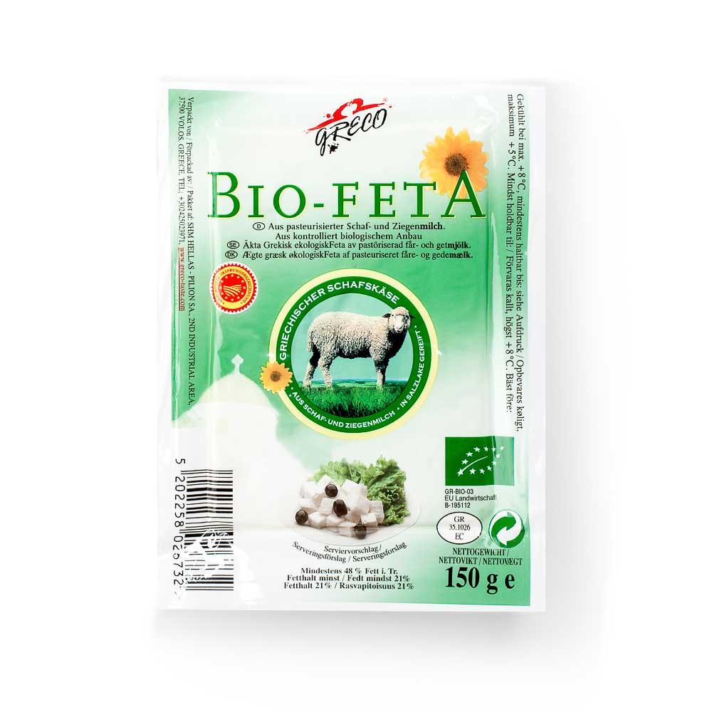Ekologiškas feta sūris GRECO, 150g