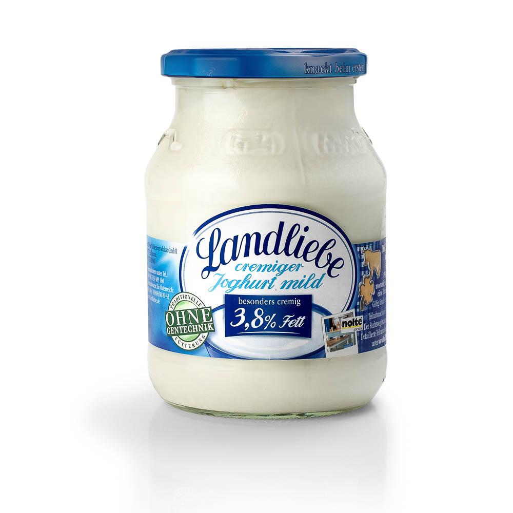 Švelnus kreminis jogurtas LANDLIEBE, 500g
