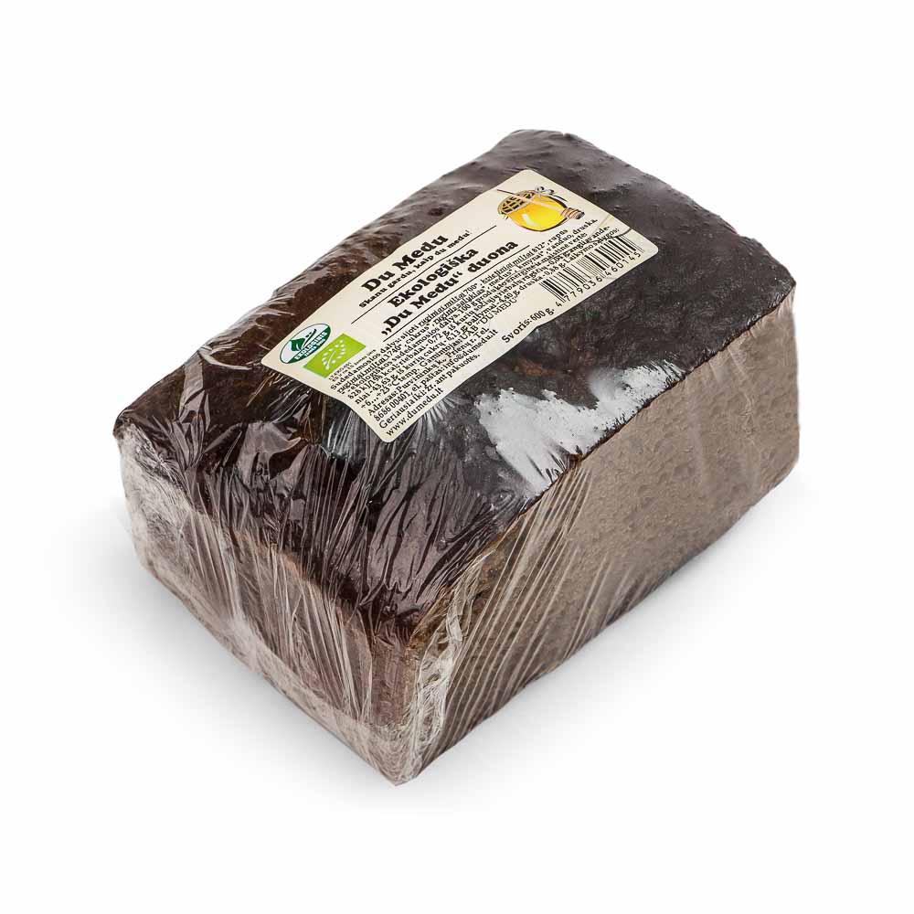 Ekologiška duona DU MEDU, 600g
