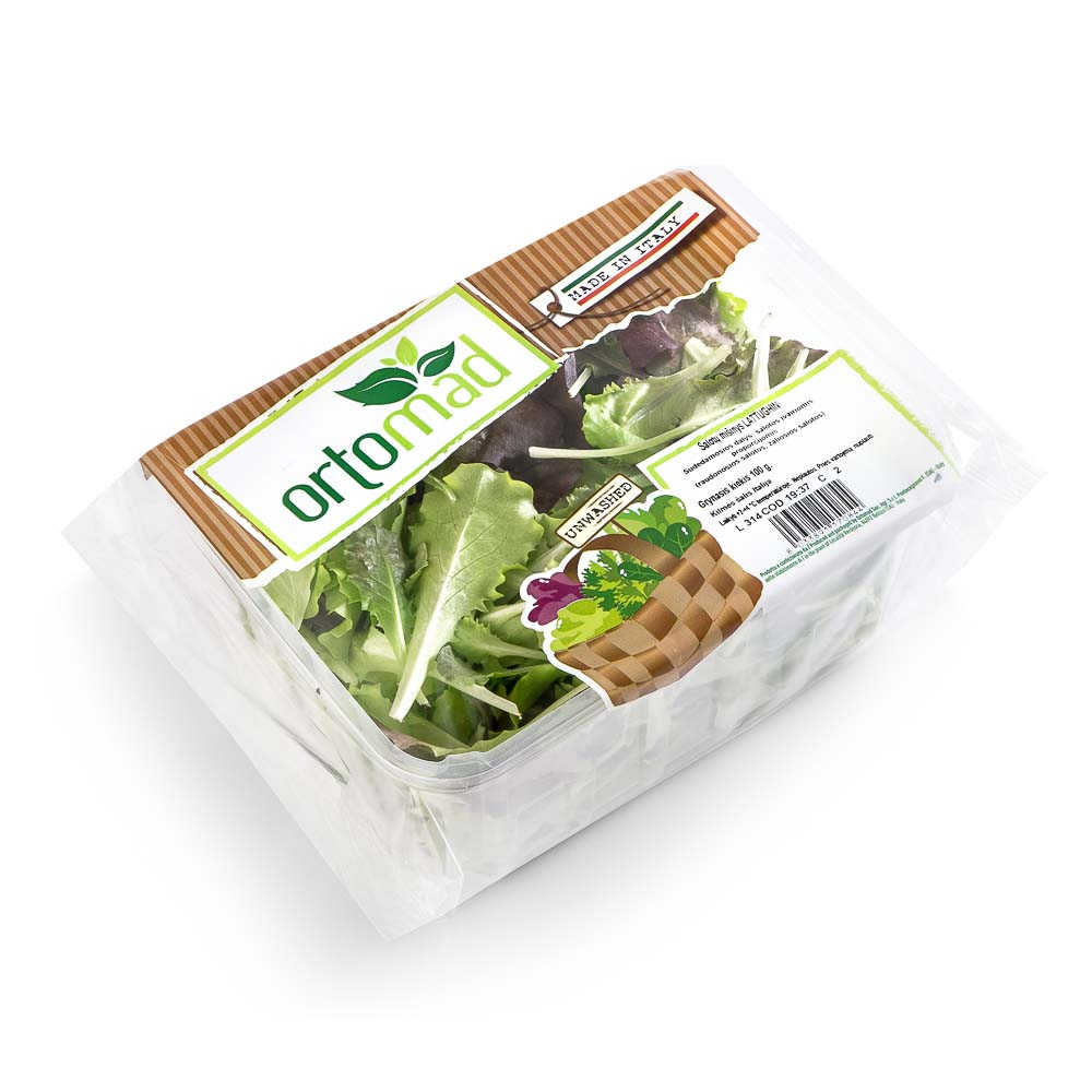 Salotų rinkinys ORTOMAD Mix Lattughini, 100g