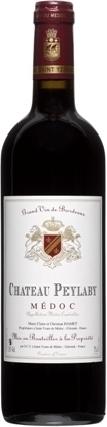 Raudonas sausas vynas CHATEAU Peylaby, Medoc' 2010, 14% tūrio, 0,75 l