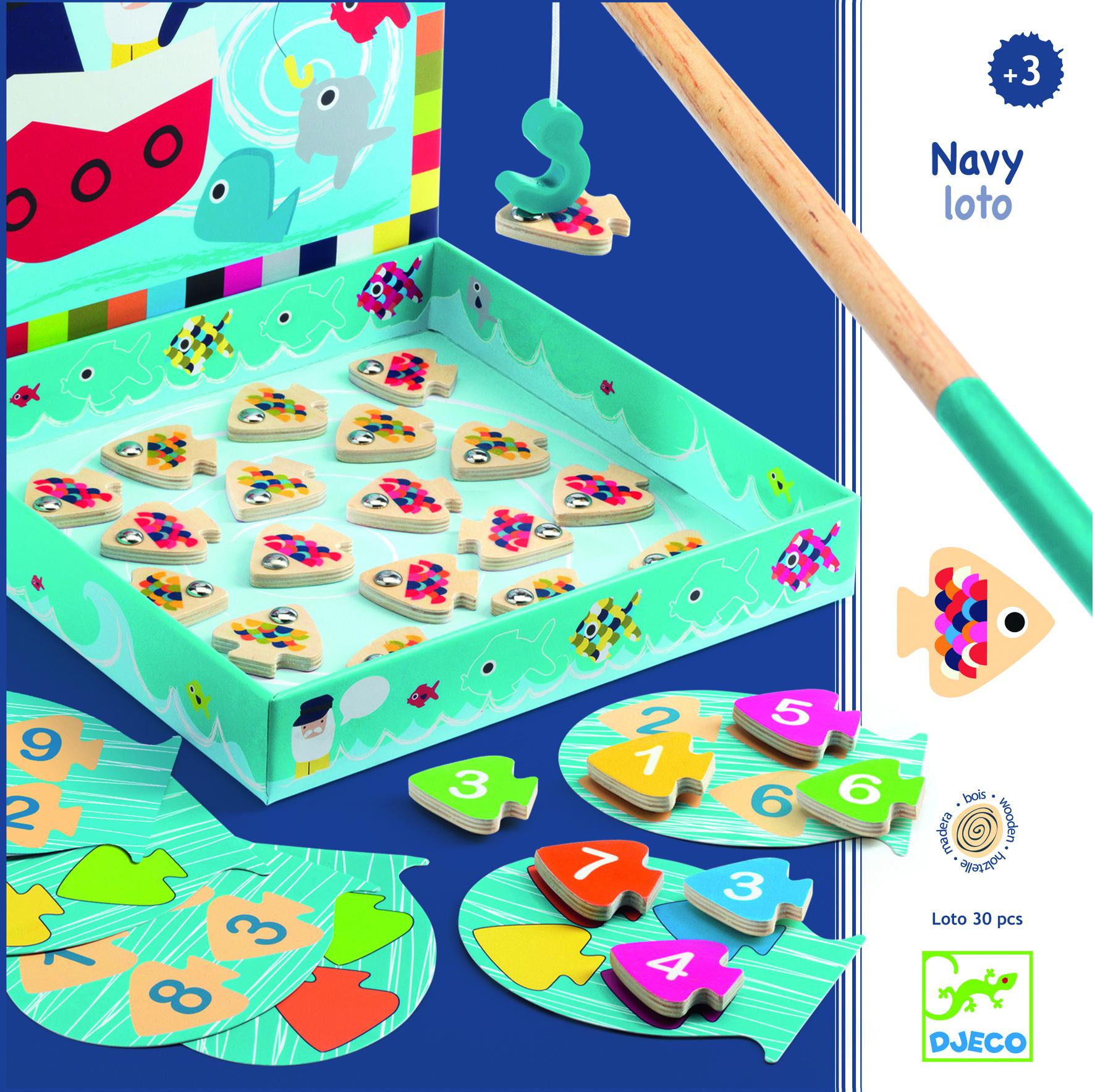 Magnetinis žaidimas Pagauk žuvytę DJECO vaikams nuo 3 metų (DJ01688)