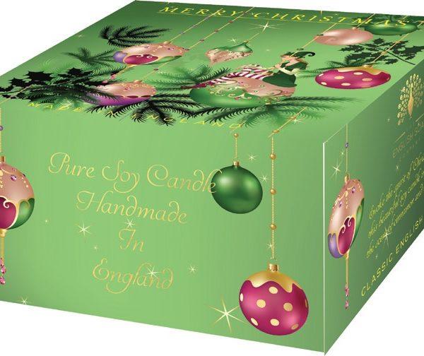 Žvakė dovanoms Elf ENGLISH SOAP, didelė, 1 vnt.