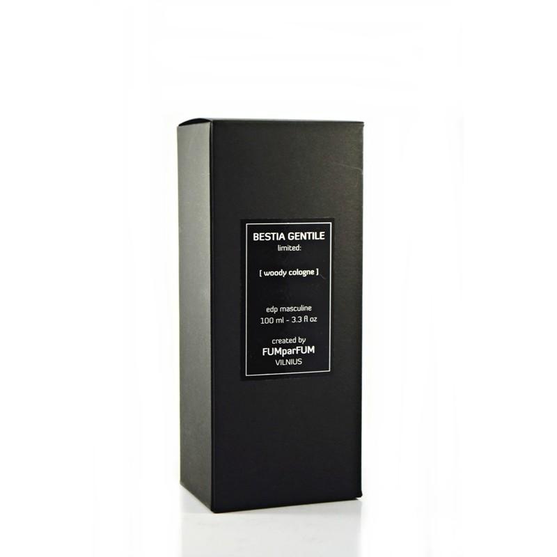 Parfumuotas vanduo FUMparFUM Bestia Gentile Woody Cologne, 25 % EDP, 100 ml