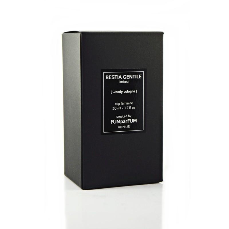 Parfumuotas vanduo FUMparFUM Bestia Gentile Woody Cologne, 25 % EDP, 50 ml