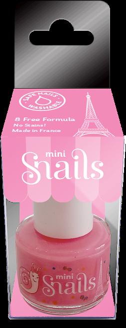 Nuplaunamas vandeniu nagų lakas Dantukų fėja  Mini vaikams  nuo 3 m. SNAILS, 10,5 ml