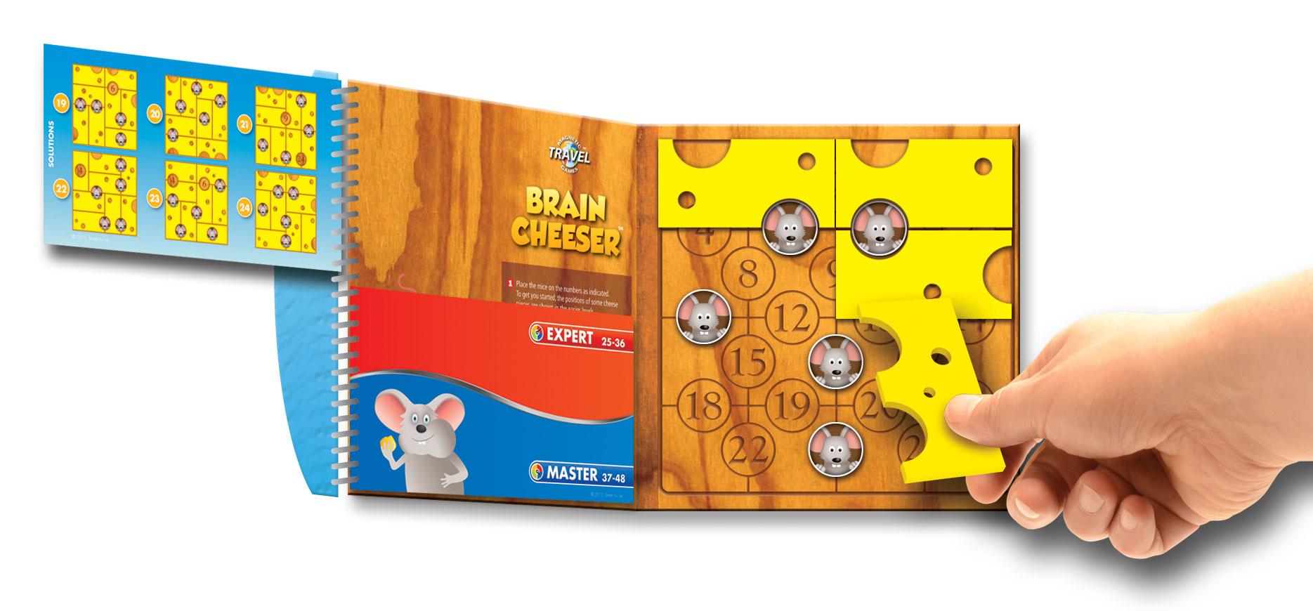 Loginis žaidimas SMART GAMES Brain Cheeser vaikams nuo 6 metų (SGT 250)