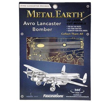 Konstruktorius Lancaster Bomber  14+, Metal Earth (MMS067)
