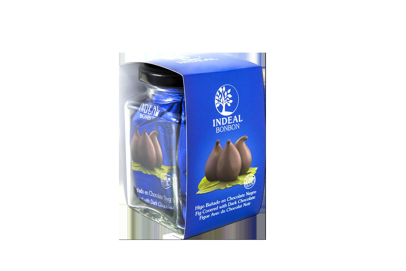 Figos glaistytos šokoladu INDEAL 70g