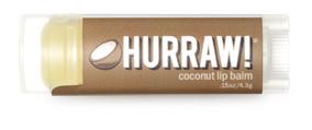 Ekologiškas lūpų balzamas HURRAW! Kokosas, 4,3 g