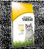 Ekologiškas sausas kačių maistas YARRAH su vištiena, 3kg