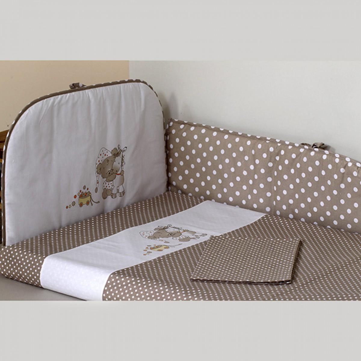 Trijų dalių apsauga lovytei VILAURITA Dudžio sapnas (631)