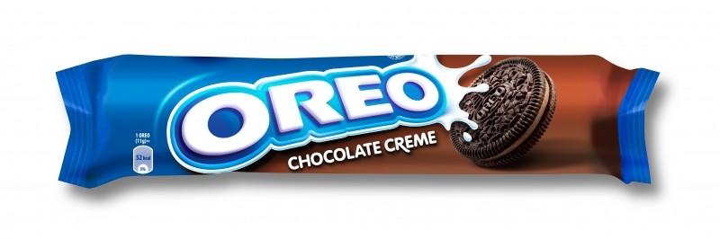 Sausainiai OREO su šokoladiniu kremu, 154g