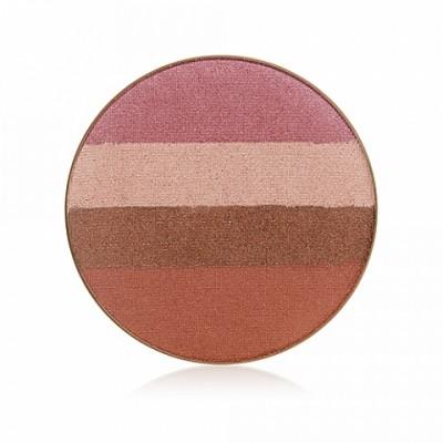 Mineralinis veido bronzatas JANE IREDALE Quad Bronzer Sunbeam, 1 vnt.