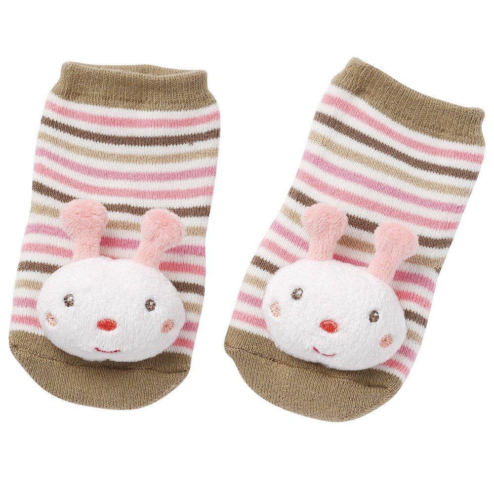 Barškančios kojinytės BABYFEHN Bitutė 0-12 mėnesių vaikams, 12 cm (068511)