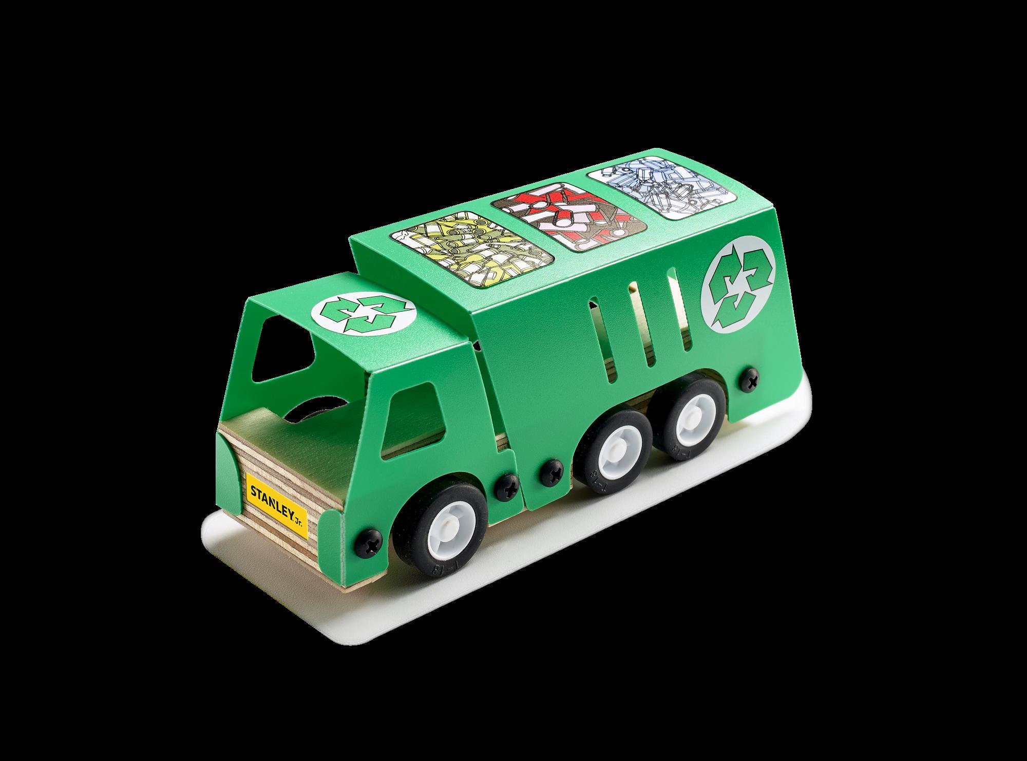 Kūrybos rinkinys STANLEY Atliekų pervežimo mašina vaikams nuo 5 metų