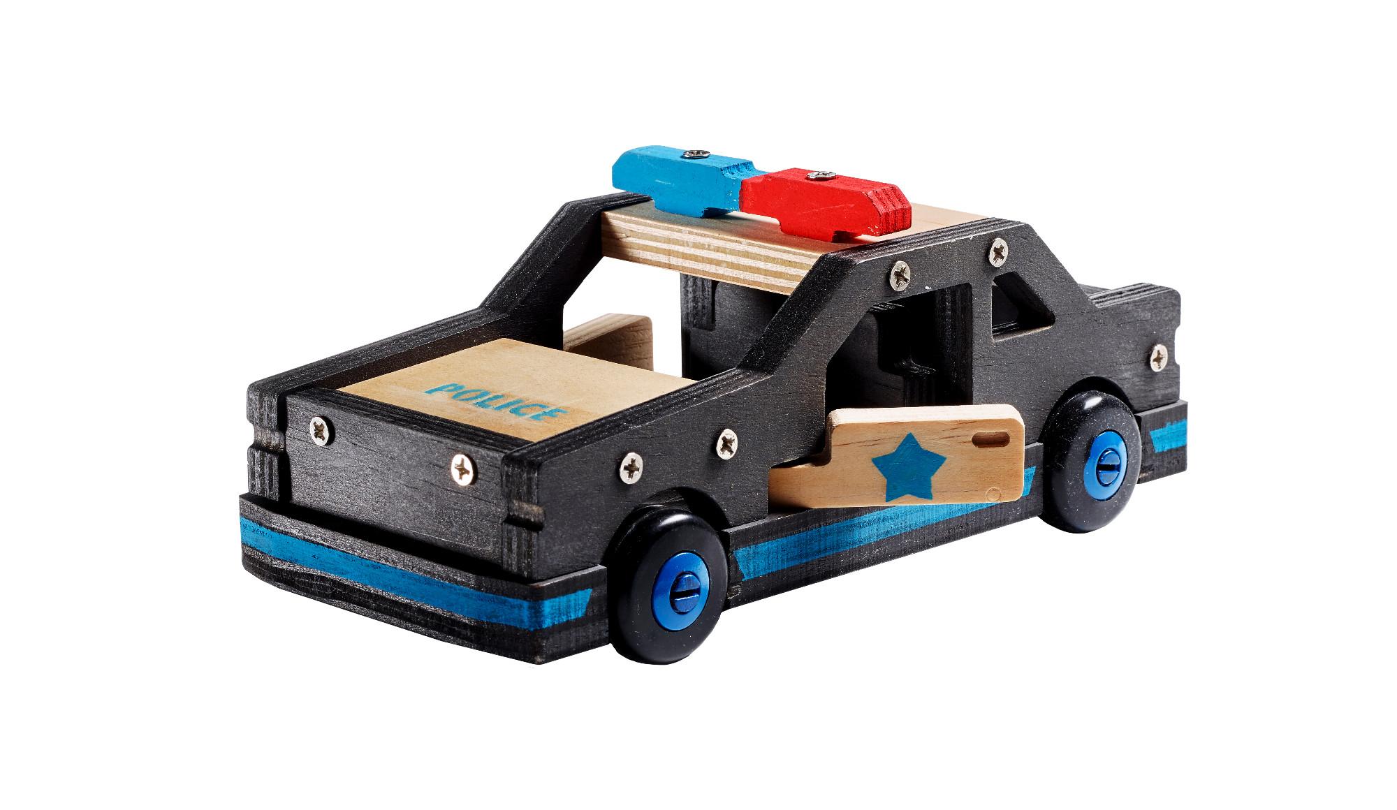 Kūrybos rinkinys STANLEY Policijos automobilis vaikams nuo 5 metų