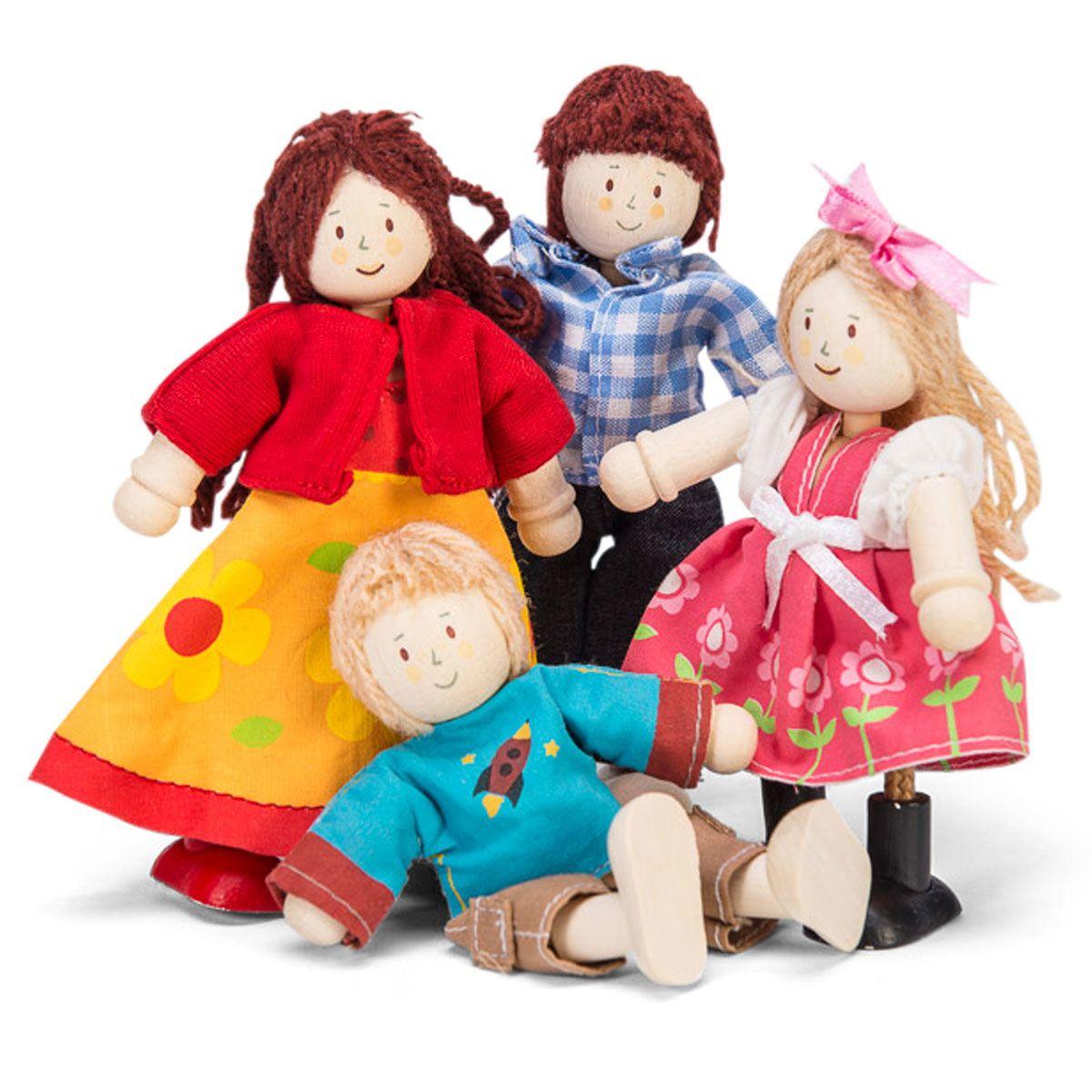 Lėlių šeima LE TOY VAN Dollhouses vaikams nuo 3 metų (P051)