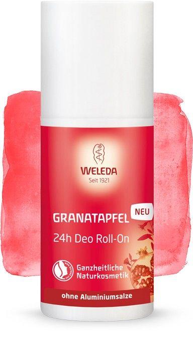 Rutulinis 24 val. poveikio dezodorantas WELEDA su granatmedžių ekstraktu, 50 ml