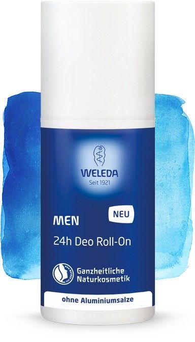 Rutulinis 24 val. poveikio dezodorantas WELEDA vyrams, 50 ml