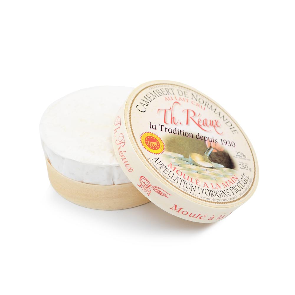 Karvės pieno sūris Camembert reaux BUISSON, 250g