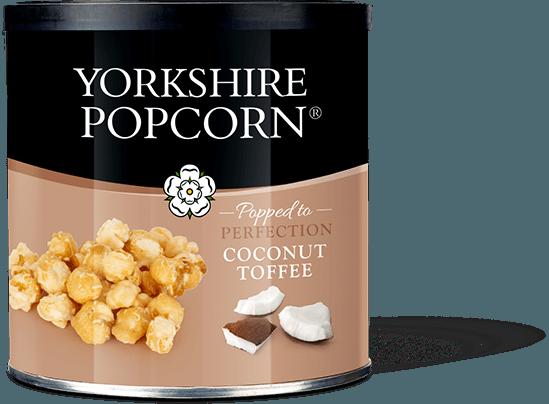 Kokoso irisu dengti kukurūzai YORKSHIRE POPCORN,90g