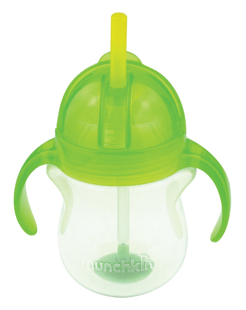 Neišsiliejanti gertuvė MUNCHKIN Click Lock su rankenėlėmis vaikams nuo 6 mėn., 207 ml