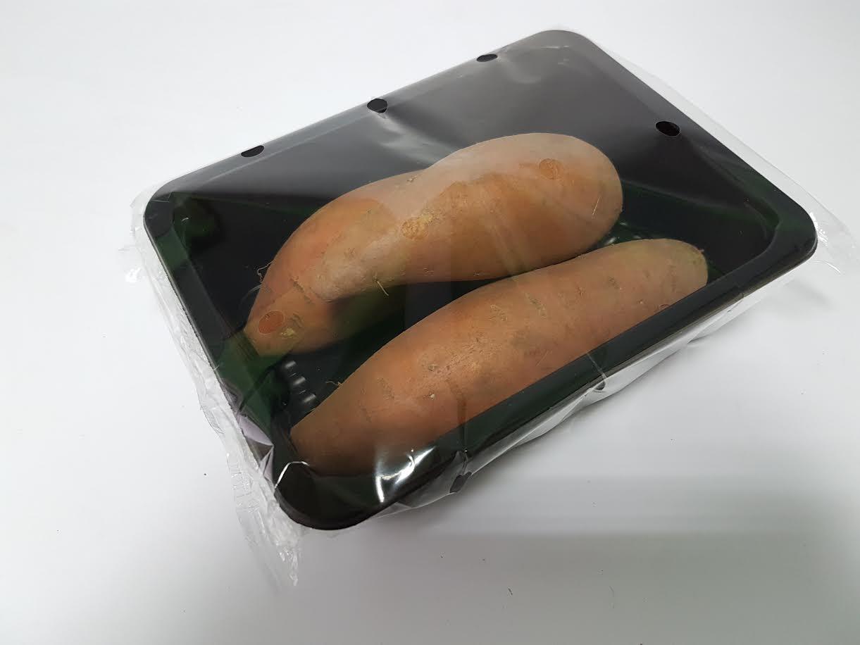 Saldžios bulvės indelyje, 500g