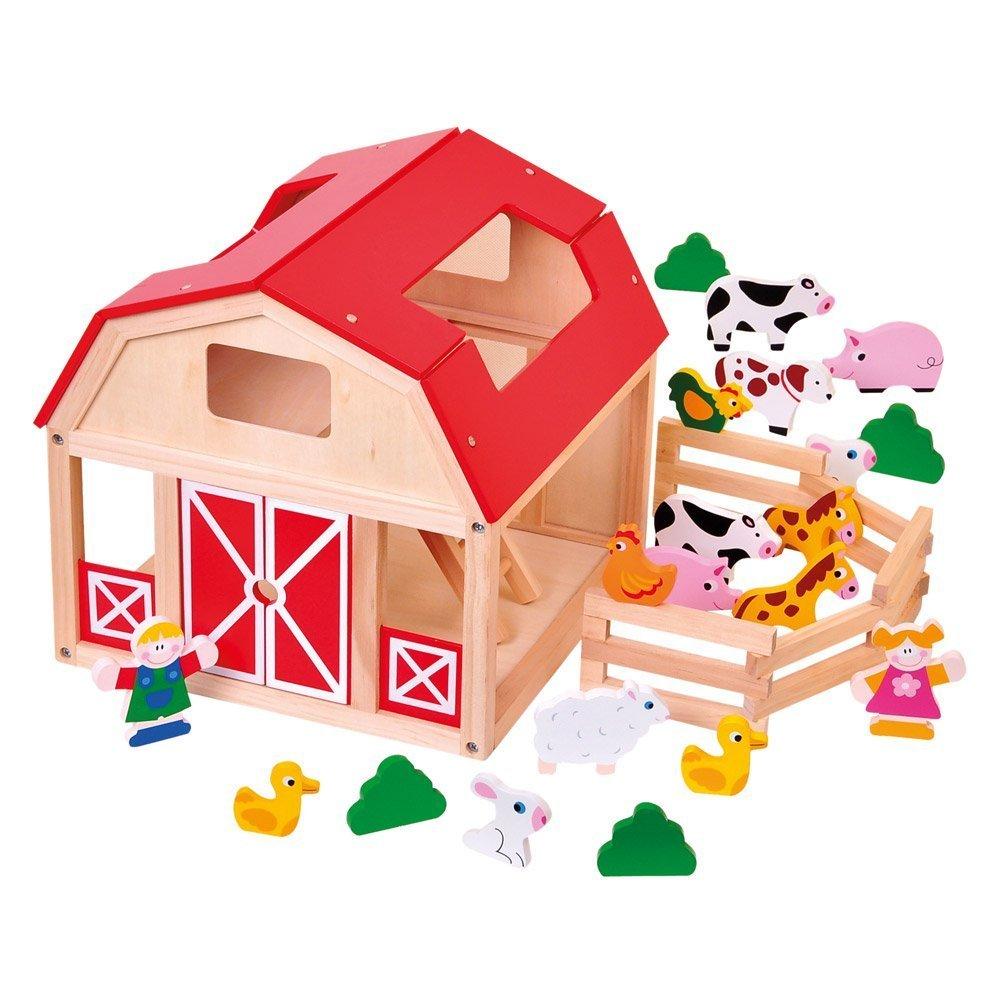 Medinė ferma BINO su gyvūnais vaikams nuo 3 metų (82221)
