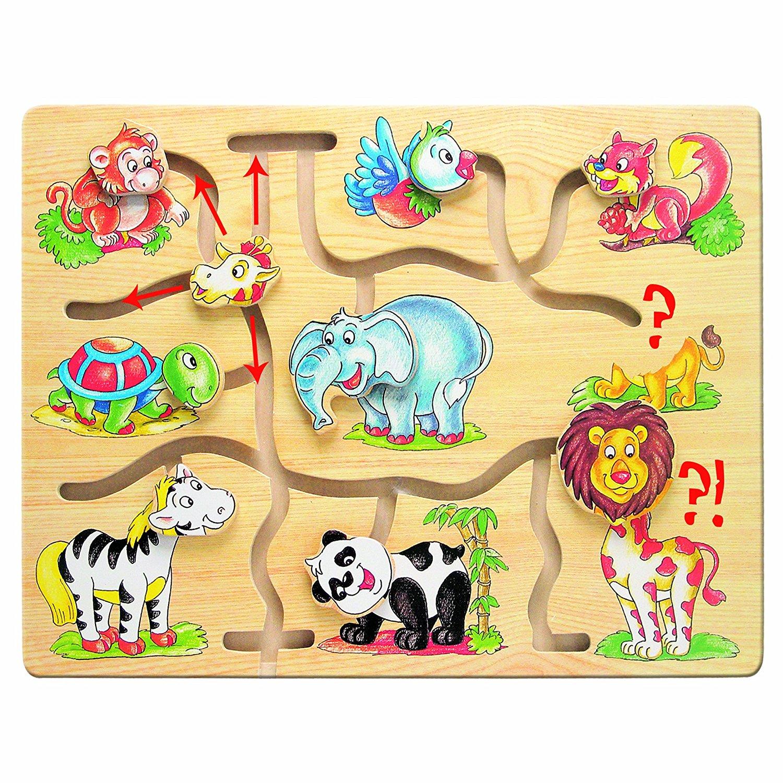Lavinamasis žaidimas BINO Sudėliok teisingai Afriką vaikams nuo 12 mėn. (88096)