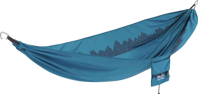 Dvivietis hamakas THERMAREST Slacker, mėlynos spalvos