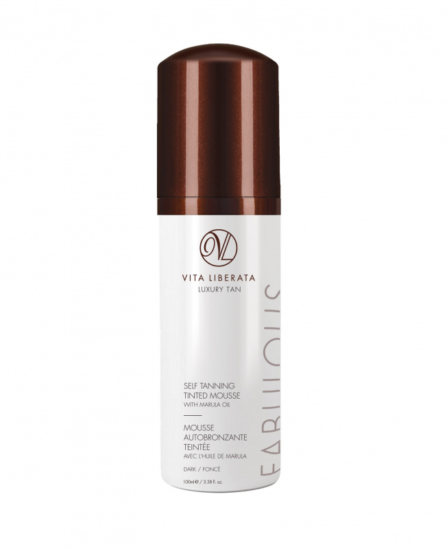 Savaiminio įdegio putos VITA LIBERATA Dark, 100 ml
