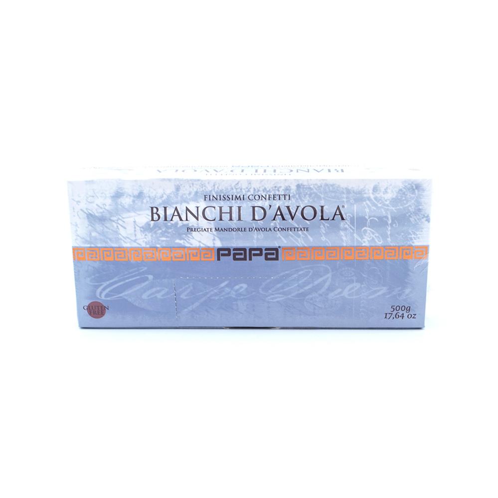Migdolai, dengti baltu cukraus apvalkalu PAPA, 500g