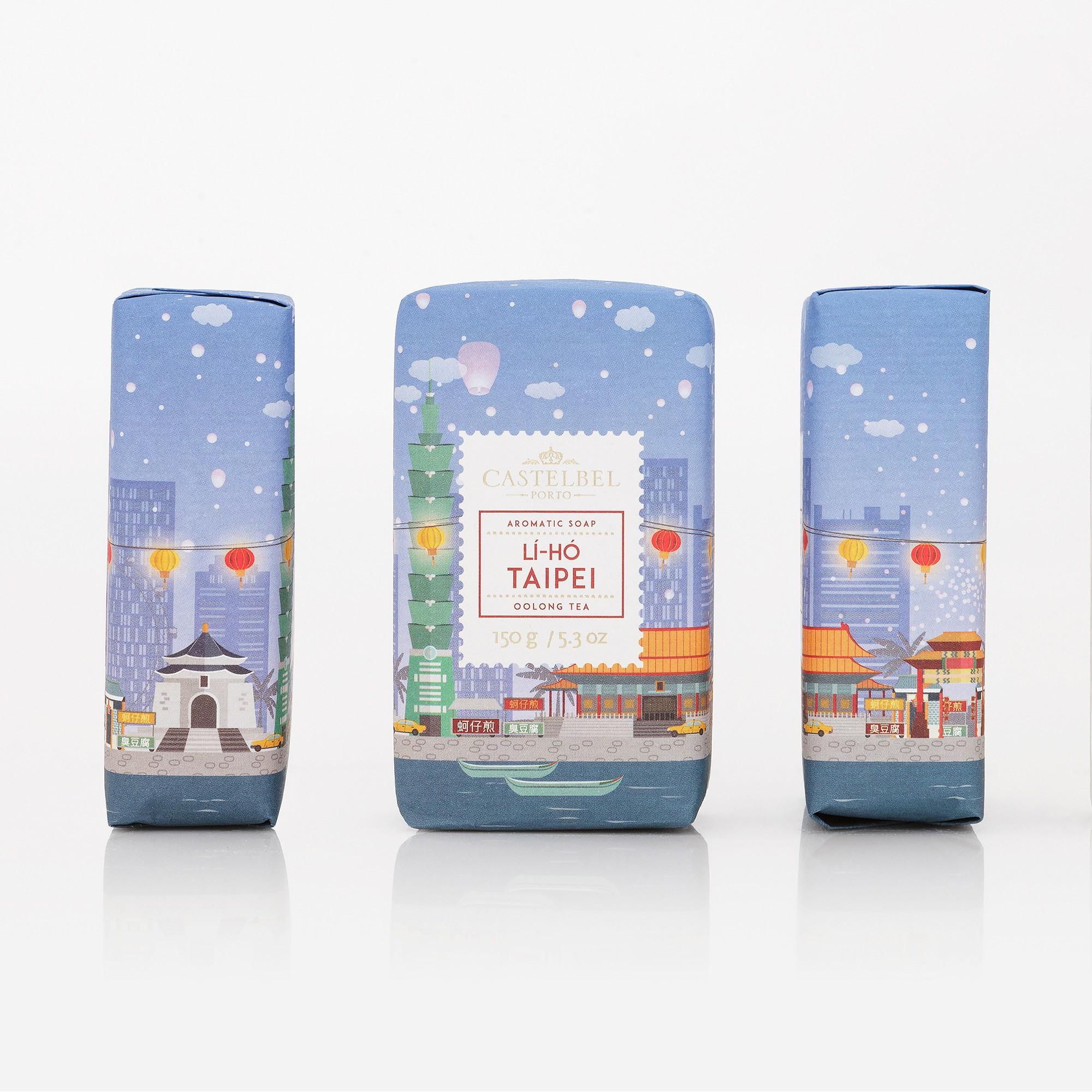 Muilas CASTELBEL Li-Ho Taipei Oolong arbatos kvapo, 150 g