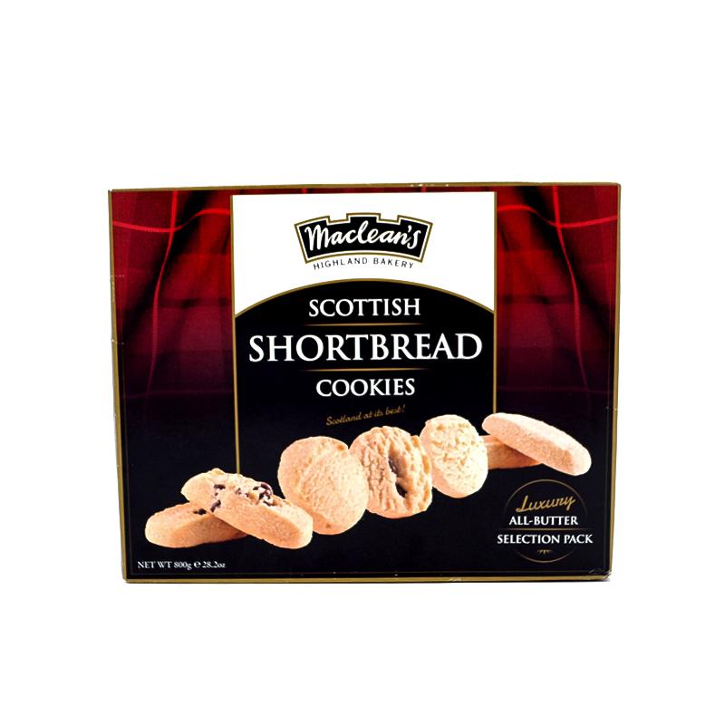 Sviestiniai sausainiai Shortbread cookies Macleans,800g