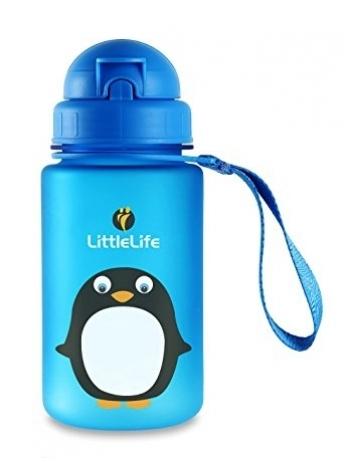 Vaikiška gertuvė LITTLE LIFE Pingvinas, 400 ml (L15070)