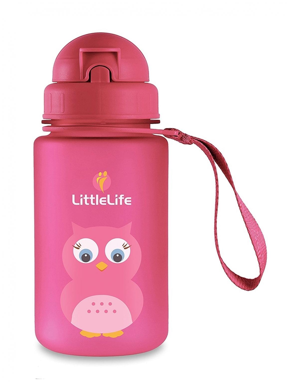 Vaikiška gertuvė LITTLE LIFE Pelėda, 400 ml (L15090)