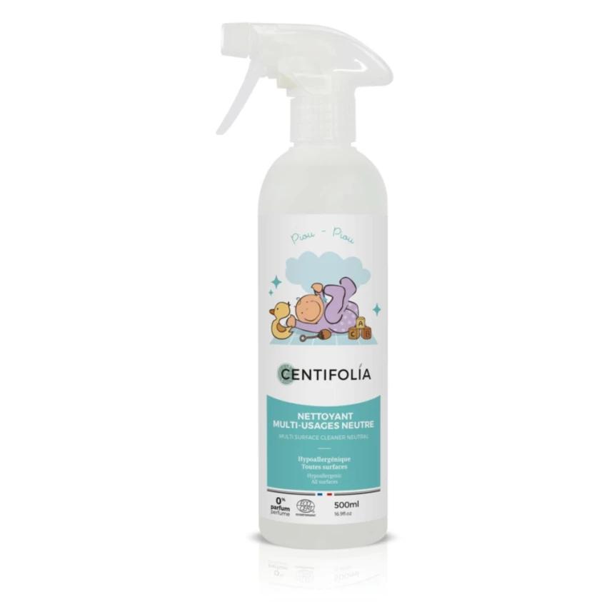 Hipoalerginis universalus valiklis vaiko kambariui CENTIFOLIA, neutralaus kvapo, 500 ml